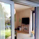 Hytte forberedt til isolering Sølund Huse