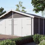 malet dobbelt garage
