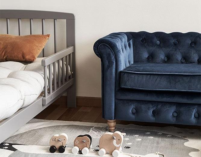 luksus chesterfield sofa til børn
