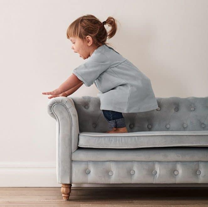 eksklusiv sofa til børn fra sølund