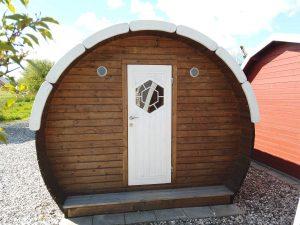 Camping tønde kan ses i udstillingen hos Sølund Huse eller på www.sølundhuse.dk