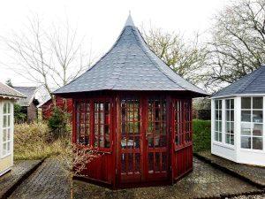 Kinesisk pavillon HoLee fra sølund