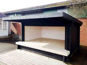 Shelter fra Sølund Huse kan ses i udstillingen eller på www.sølundhuse.dk