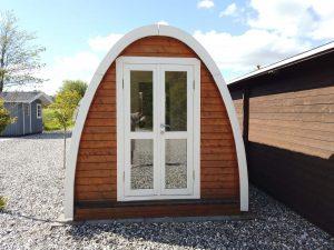 Saunapod fra udstillingen hos Sølund Huse. Se mere på www.sølundhuse.dk