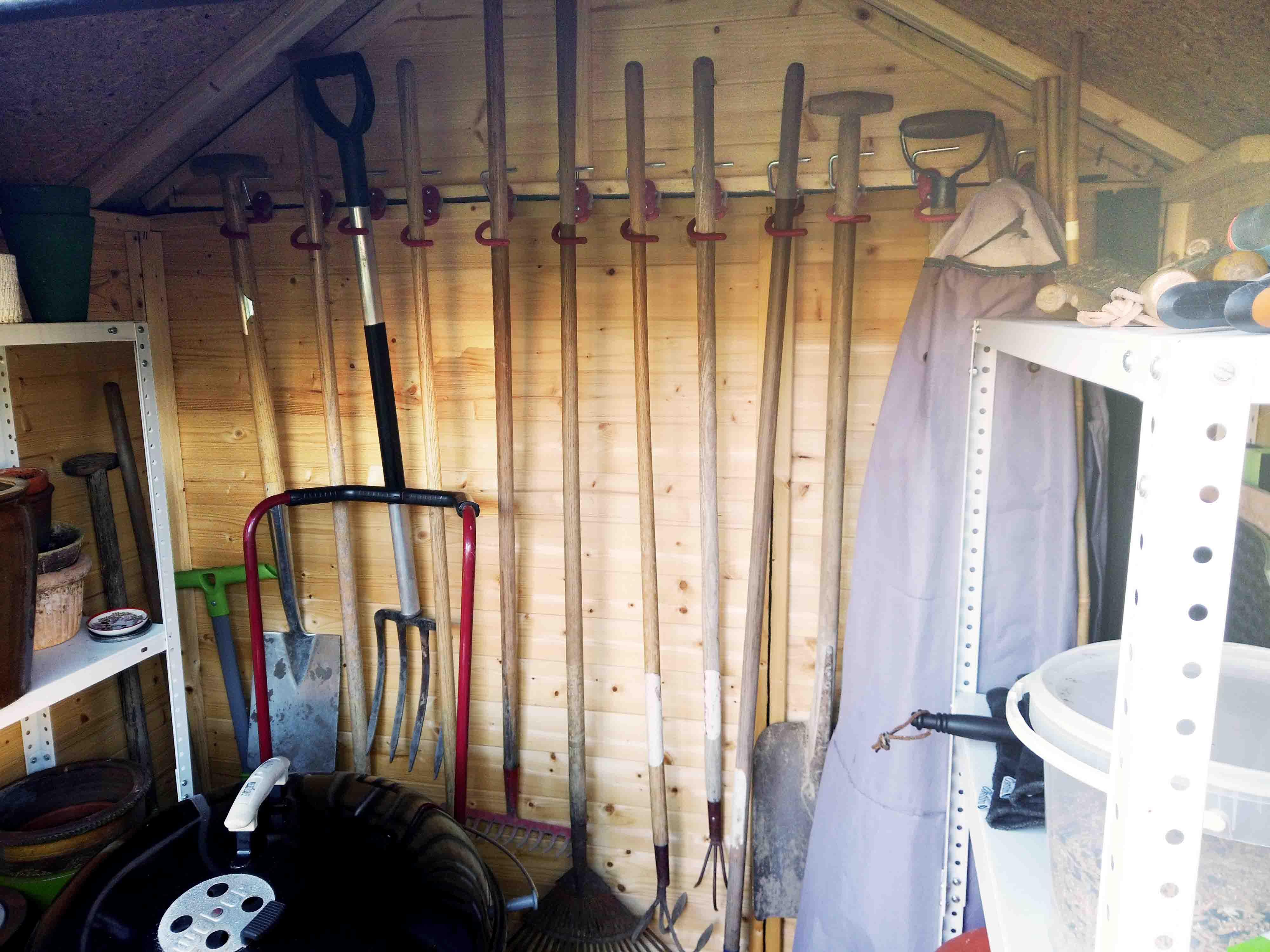Vibe 1 redskabshus fra Sølund Huse