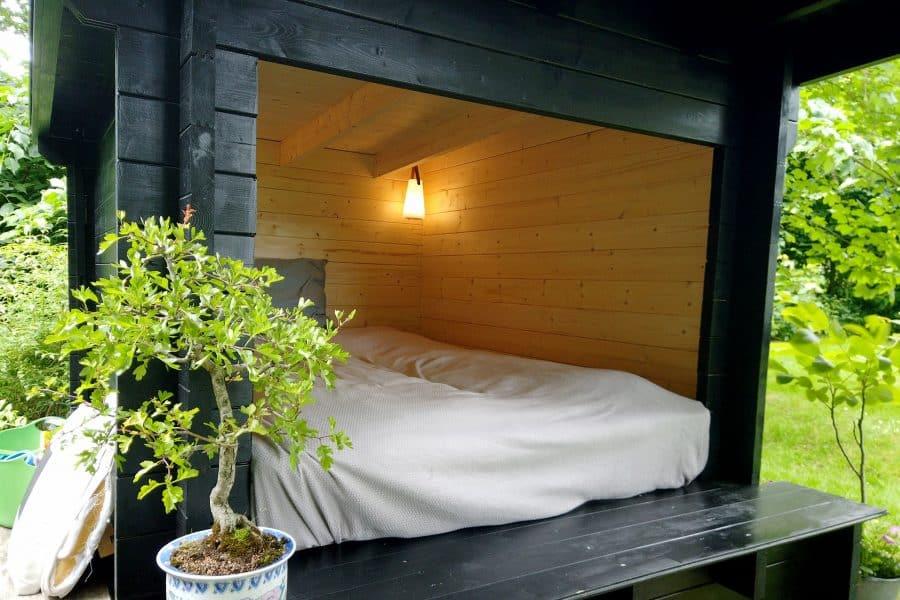 smukt og billigt shelter til haven fra www.sølundhuse.dk