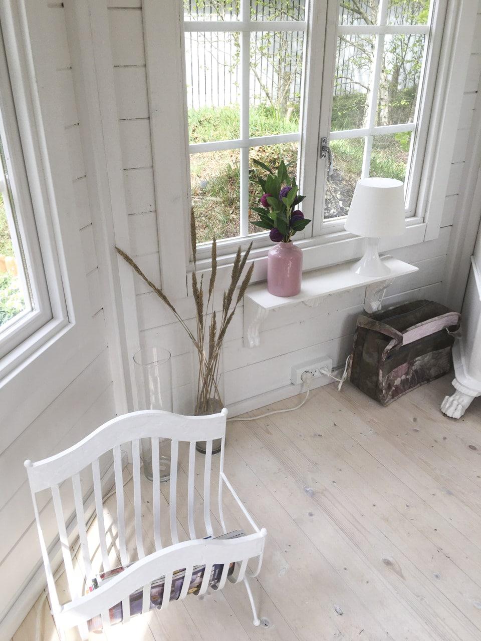 Fin indrettet pavillon fra Sølund Huse