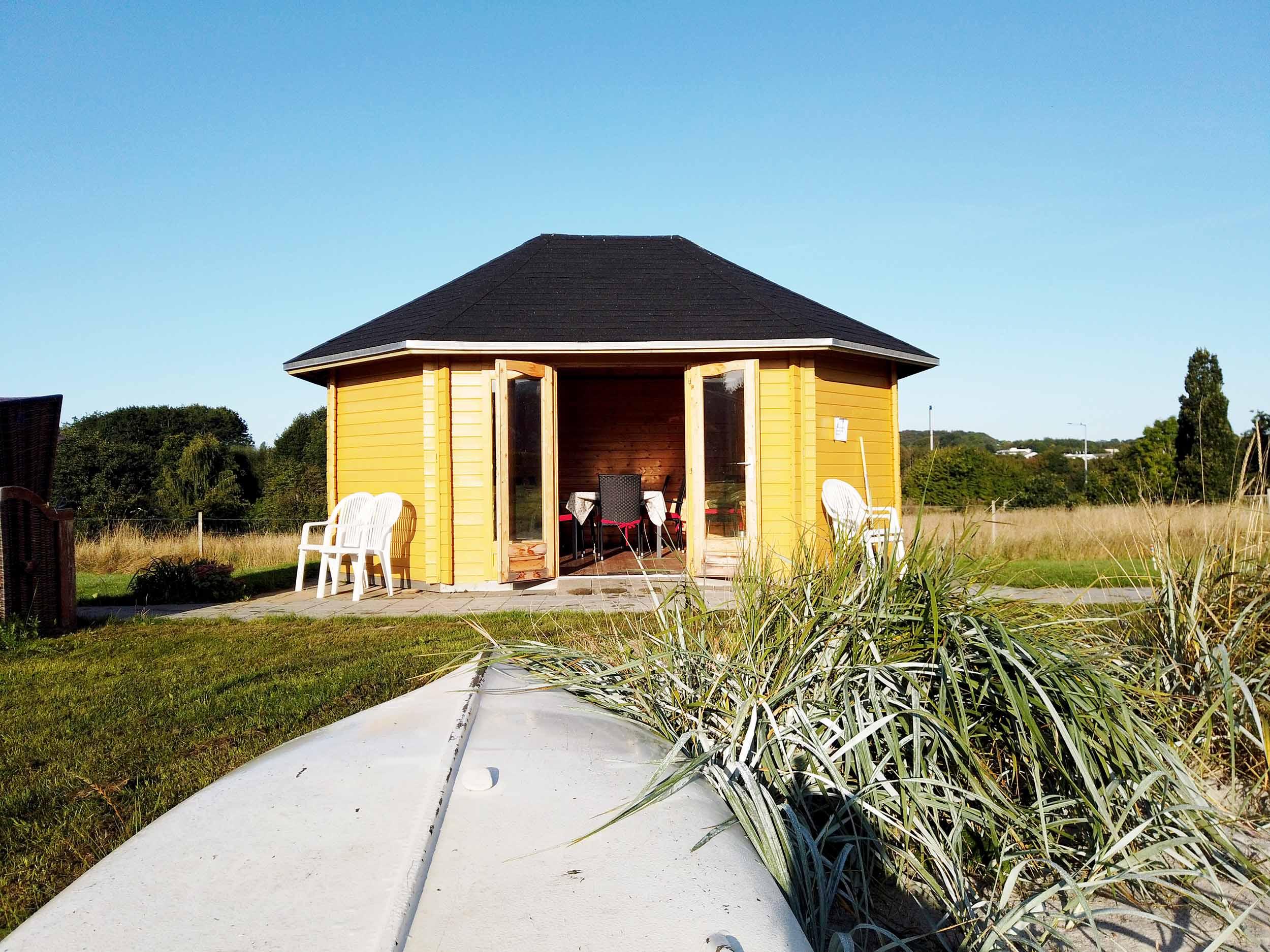 Besøgs pavillon fra Sølund