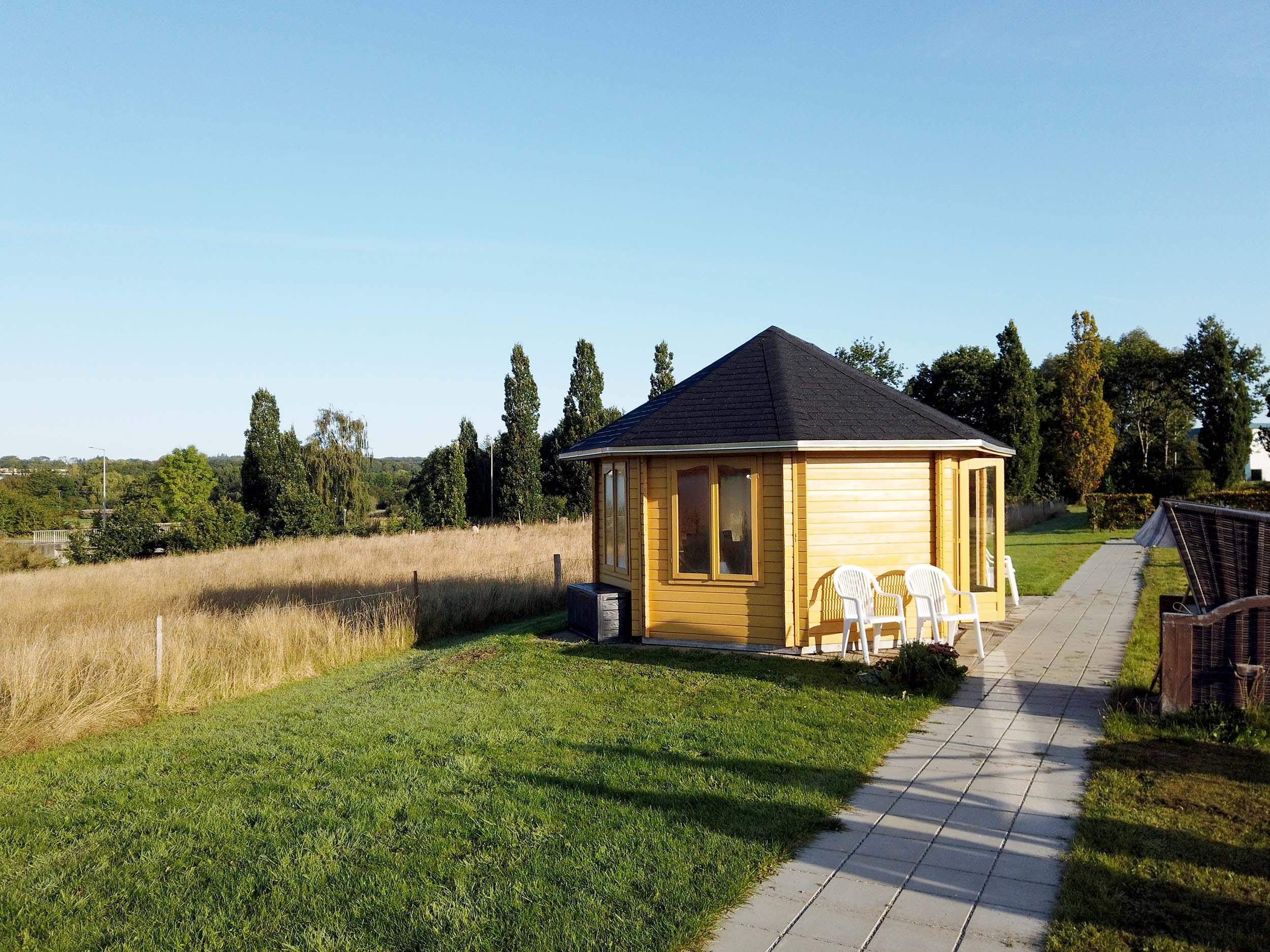 Besøgs pavillon fra Sølund Huse