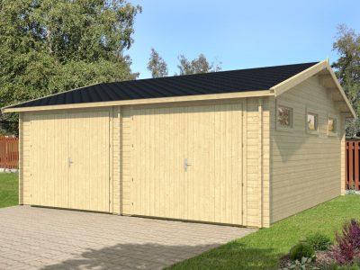Selv priser byg garage Træhuse »