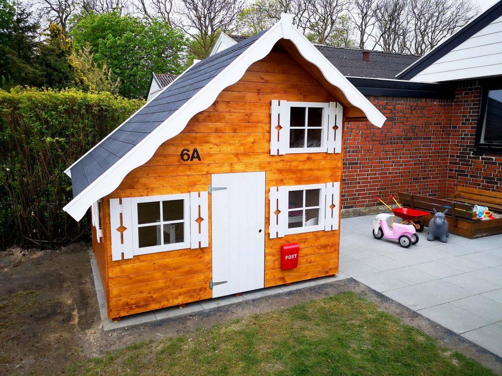 Legehus i træ fra www.sølundhuse.dk