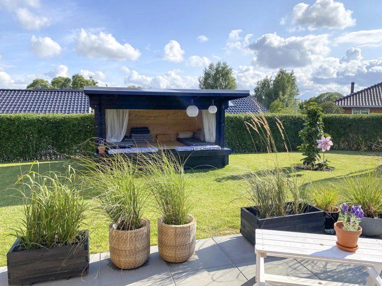 Sølund shelter til haven