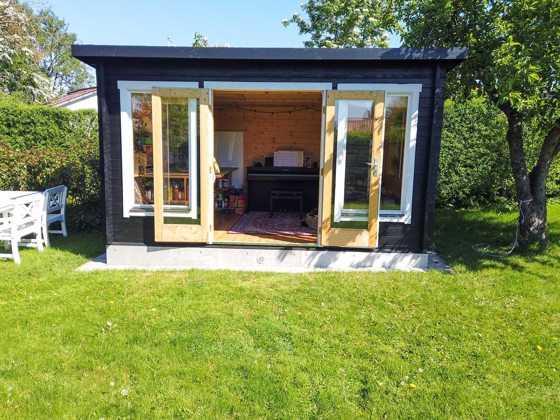 12 m2 havehus / lysthus fra www.sølundhuse.dk