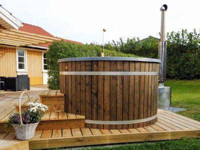Vildmarksbad ekstern ovn et lækkert udendørs bad fra sølund huse