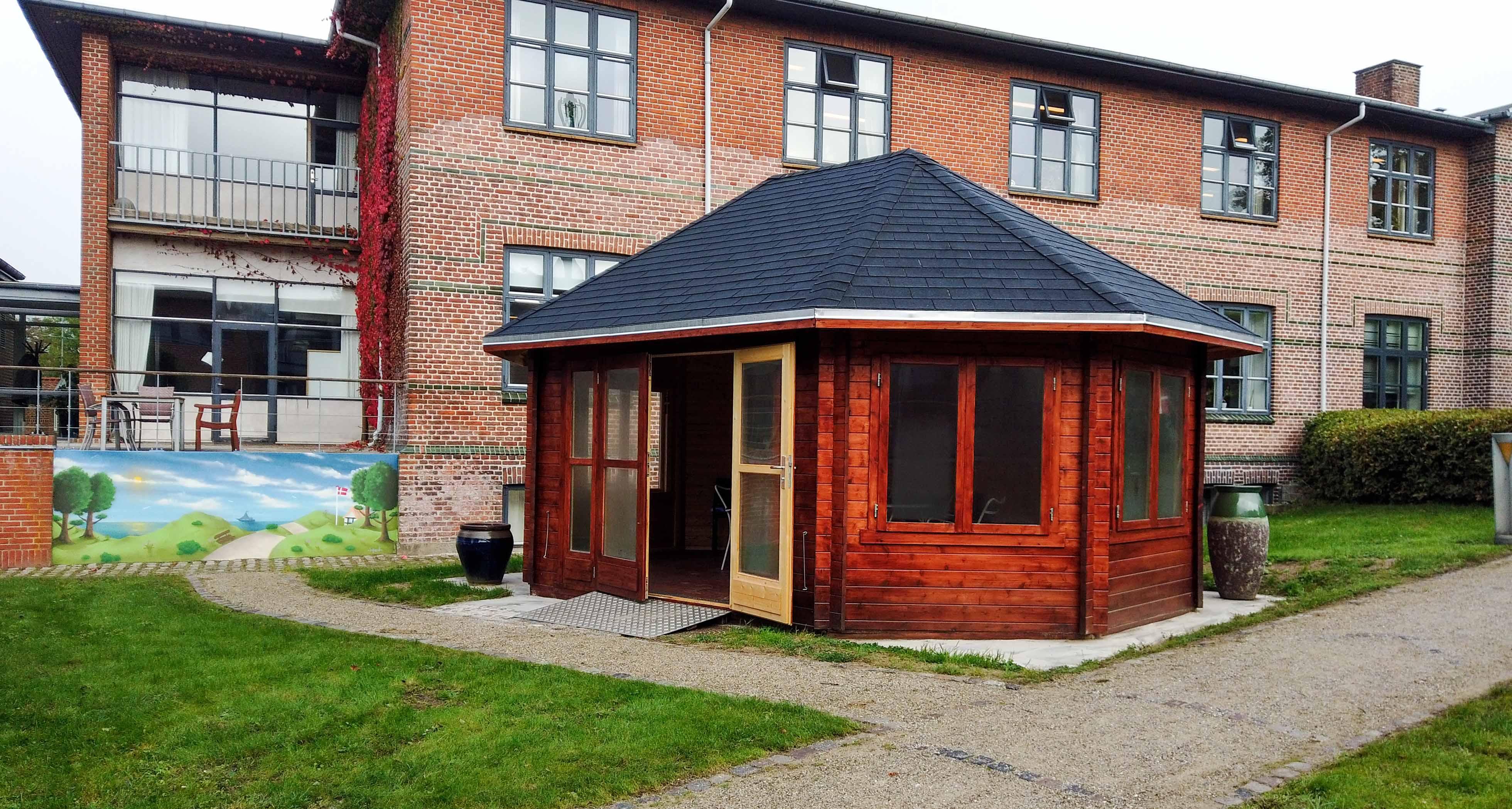pavillon erhverv til et plejecenter fra www.sølundhuse.dk